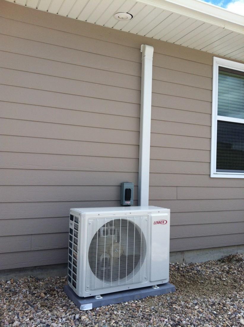 Ductless Mini Split Outdoor Alpine Climate Control Inc