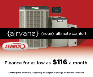 Alpine Spring Savings - Finance Select Lennox Products for as low as $116 per month